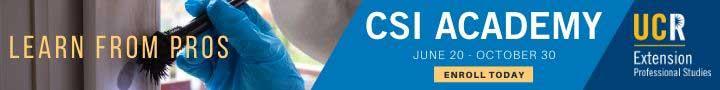 Earn a Certificate in Crime Scene Investigation