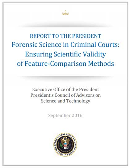 Forensic Science In Criminal Courts: Ensuring Scientific Validity